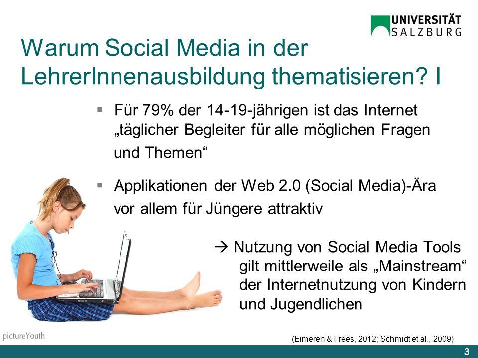 Warum Social Media in der LehrerInnenausbildung thematisieren I