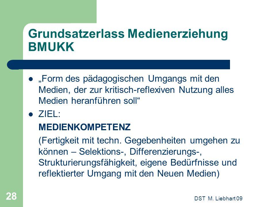 Grundsatzerlass Medienerziehung BMUKK