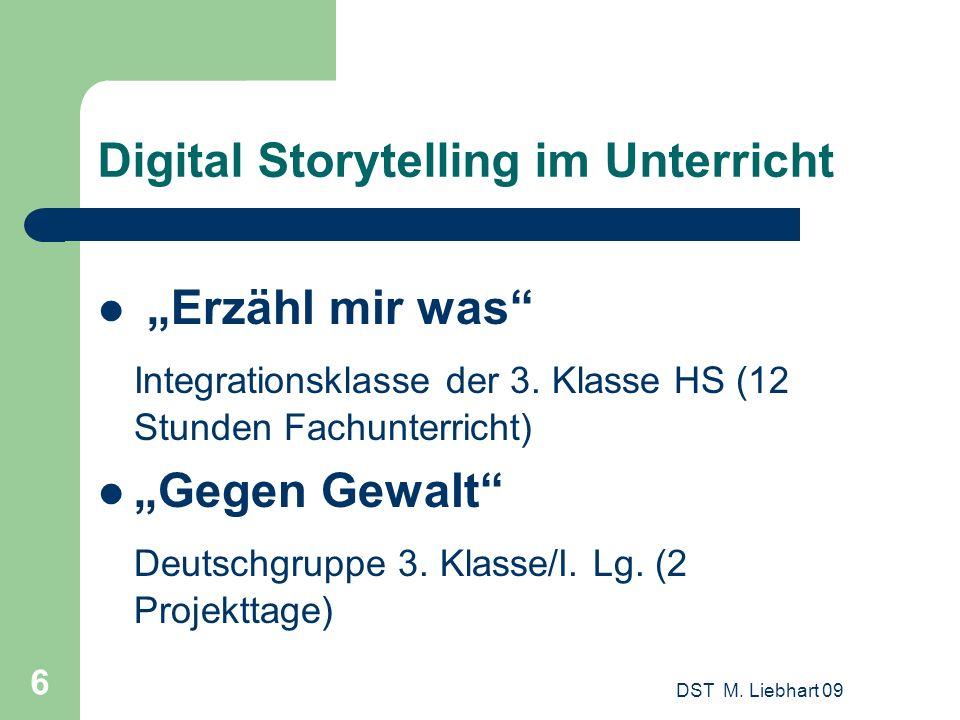 Digital Storytelling im Unterricht