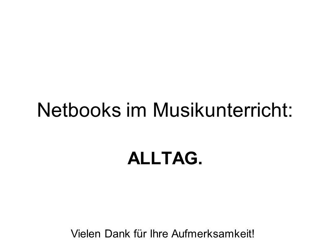 Netbooks im Musikunterricht: