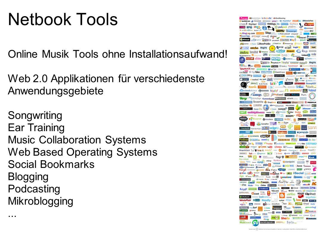Netbook Tools Online Musik Tools ohne Installationsaufwand!