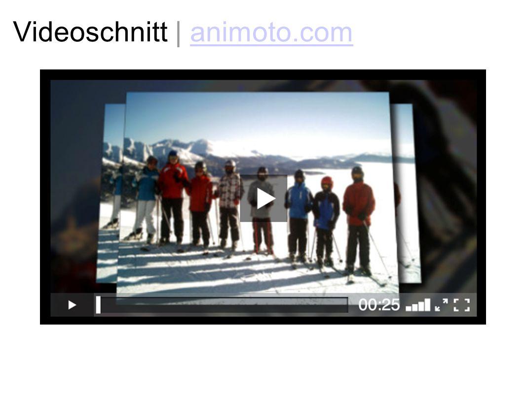 Videoschnitt | animoto.com