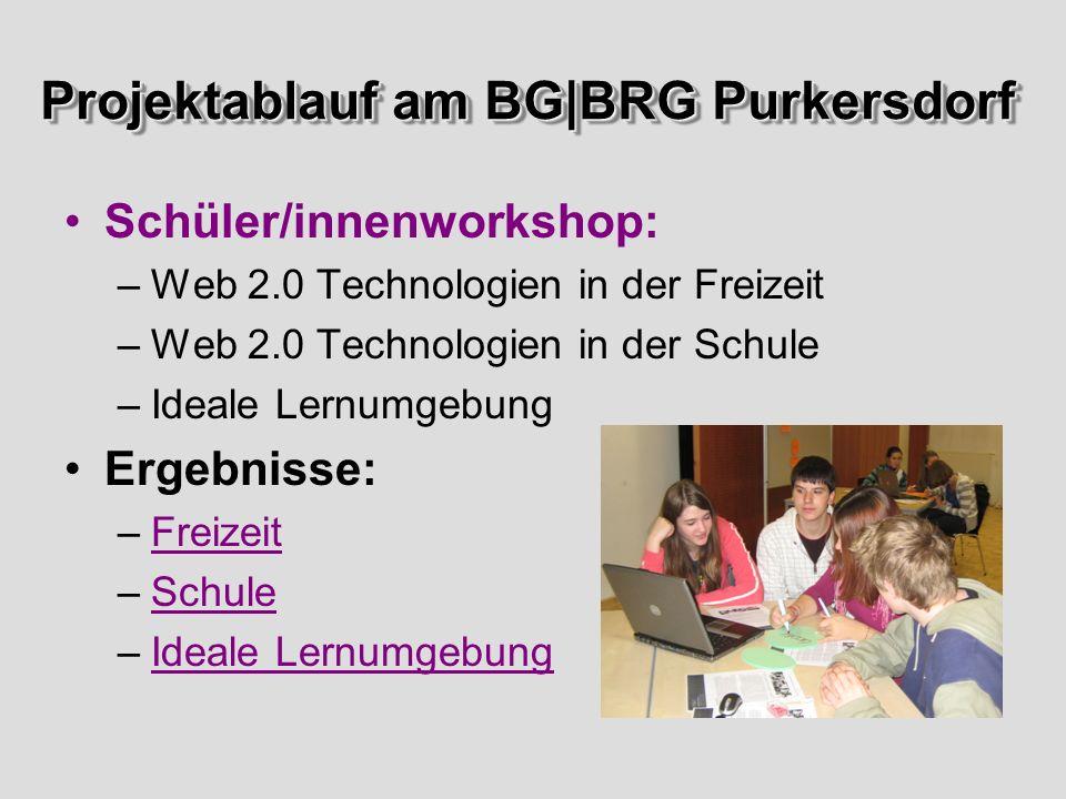 Projektablauf am BG|BRG Purkersdorf