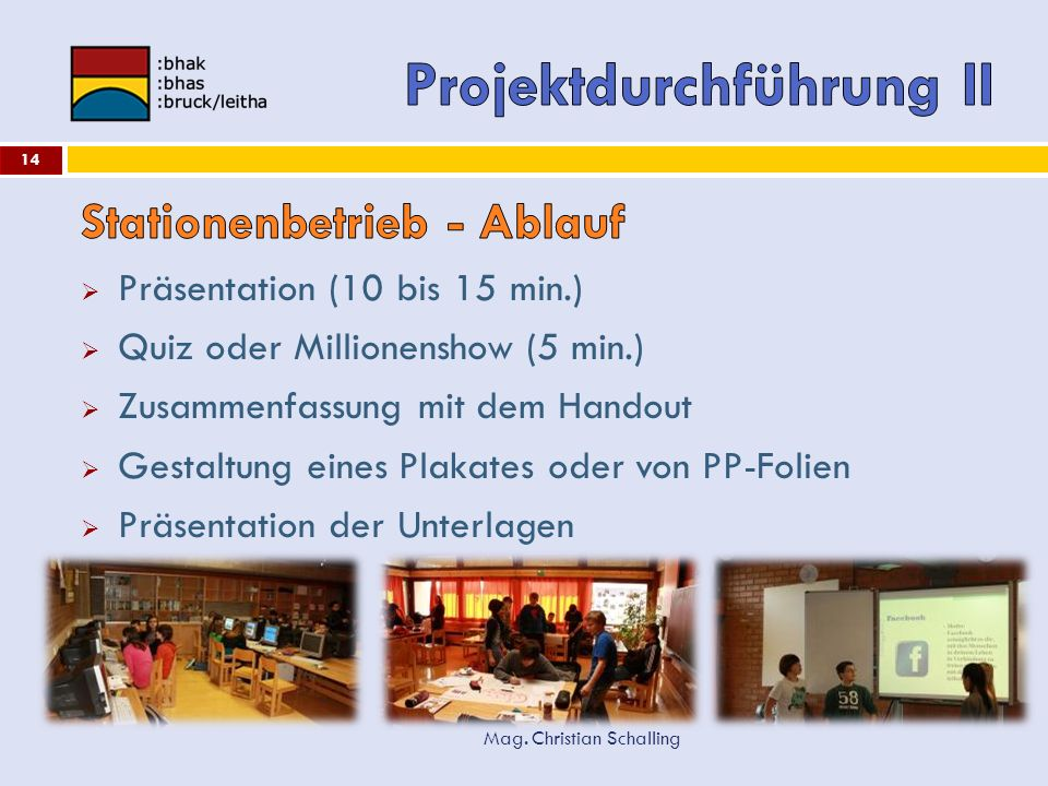 Projektdurchführung II