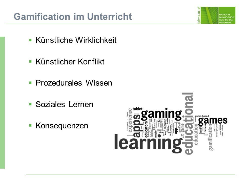 Gamification im Unterricht