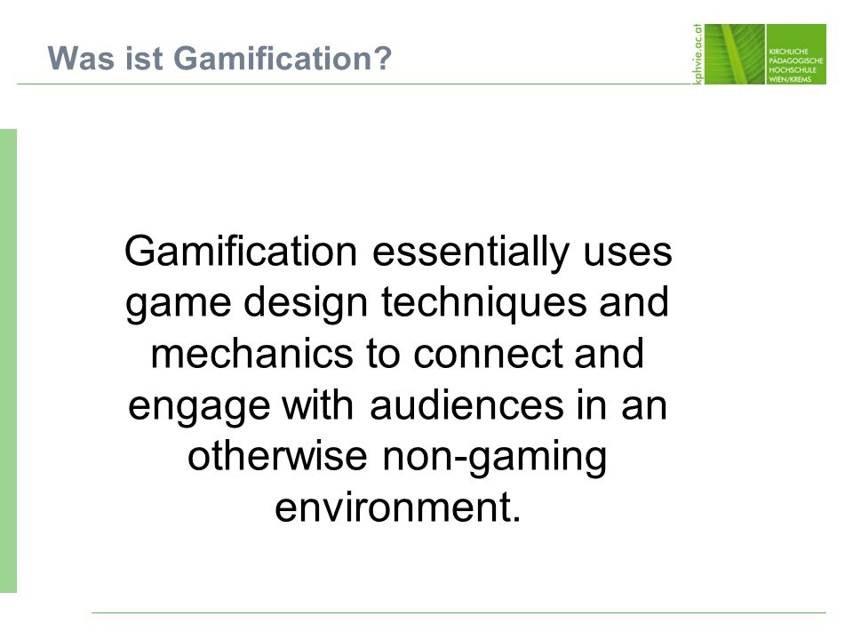 Was ist Gamification