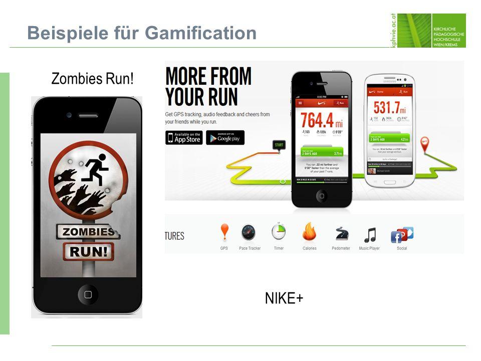 Beispiele für Gamification