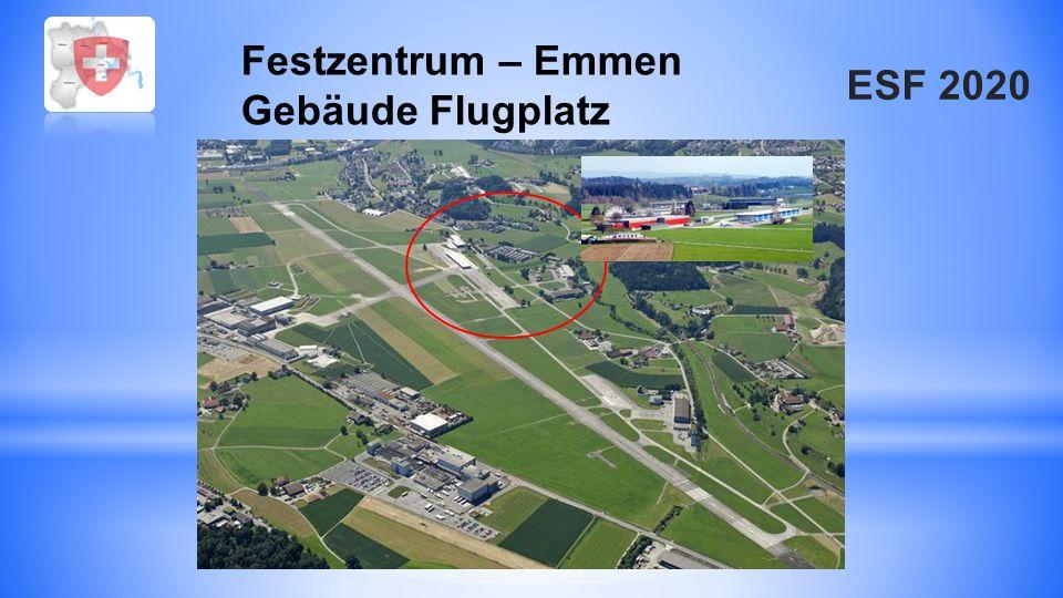Festzentrum – Emmen Gebäude Flugplatz