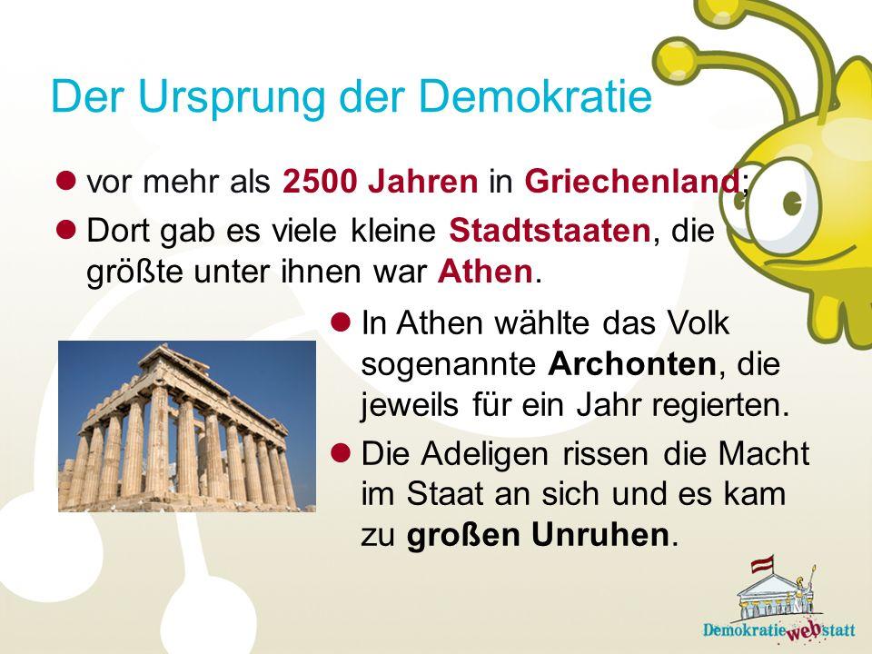 Der Ursprung der Demokratie