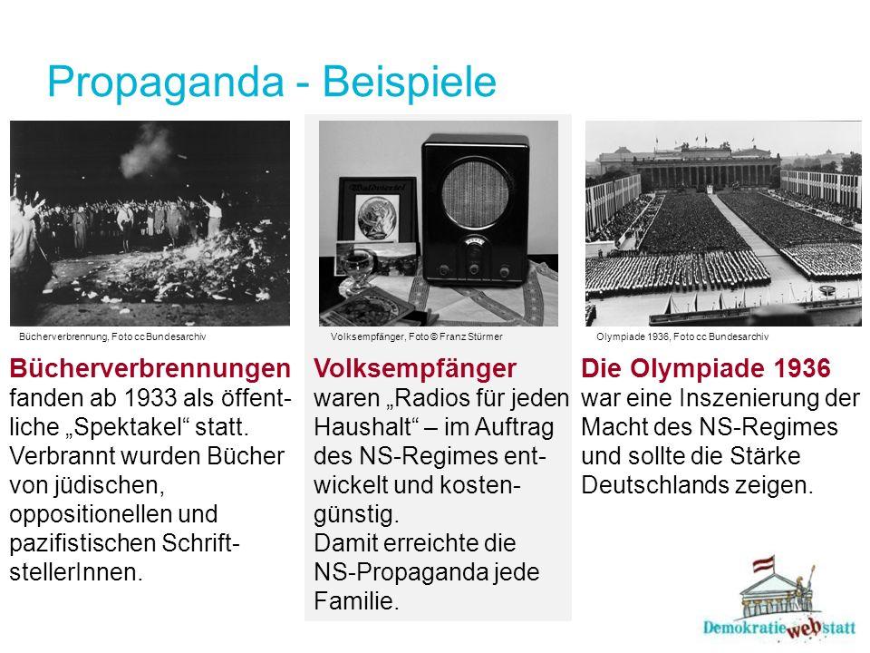 Propaganda - Beispiele