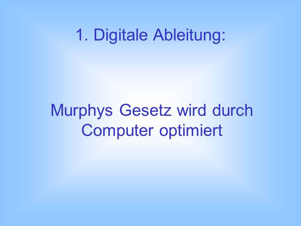 Murphys Gesetz wird durch Computer optimiert