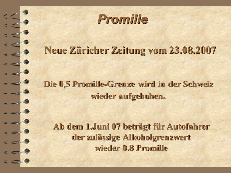 Neue Züricher Zeitung vom 23.08.2007