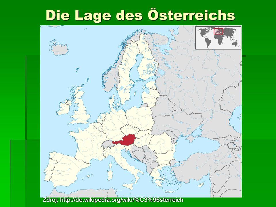 Die Lage des Österreichs