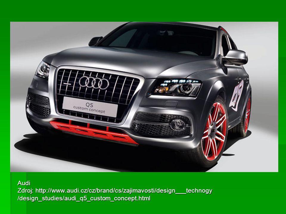 Audi Zdroj: http://www.audi.cz/cz/brand/cs/zajimavosti/design___technogy.