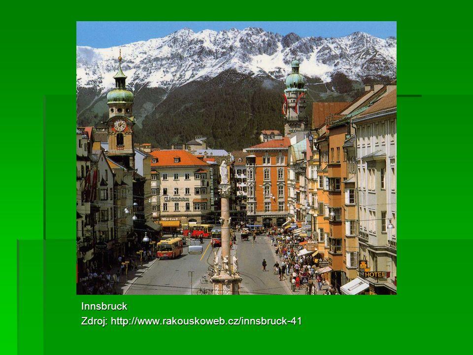 Innsbruck Zdroj: http://www.rakouskoweb.cz/innsbruck-41