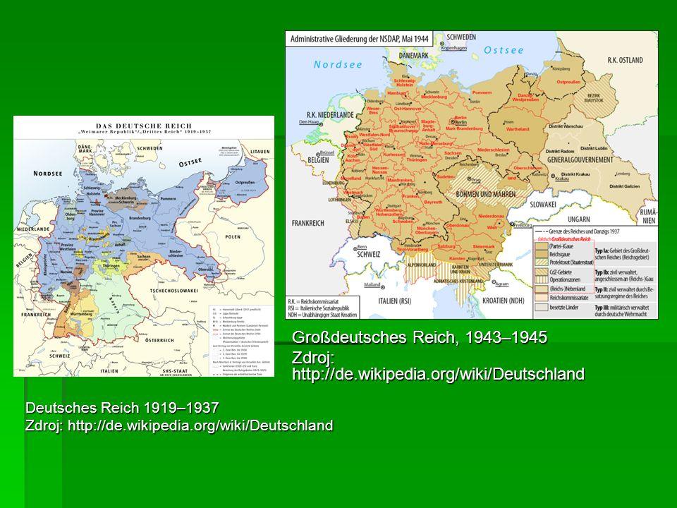 Zdroj: http://de.wikipedia.org/wiki/Deutschland