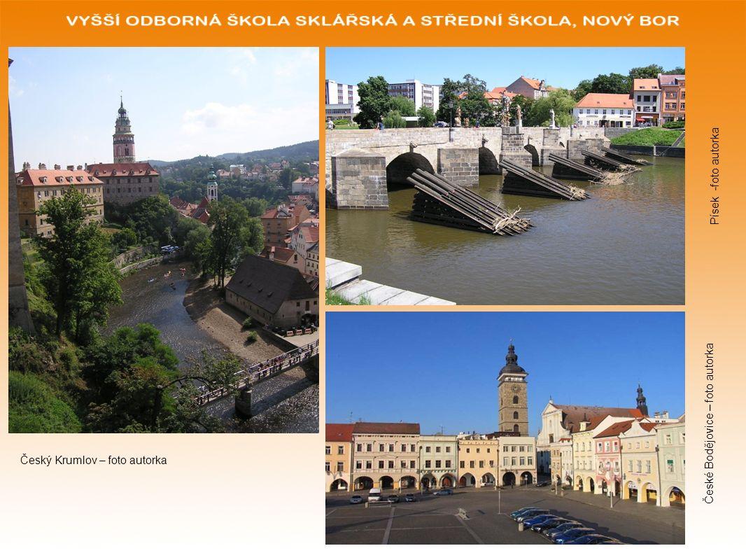 Písek -foto autorka České Bodějovice – foto autorka Český Krumlov – foto autorka