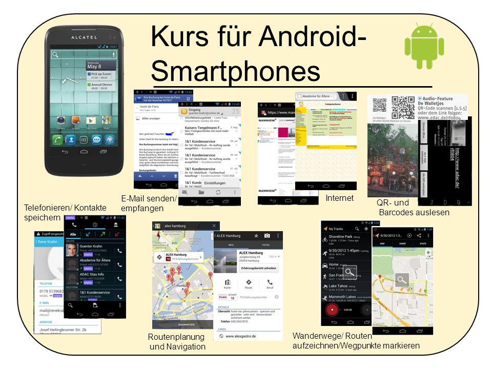 Kurs für Android-Smartphones