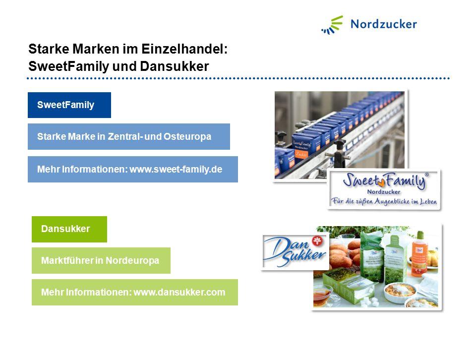 Starke Marken im Einzelhandel: SweetFamily und Dansukker