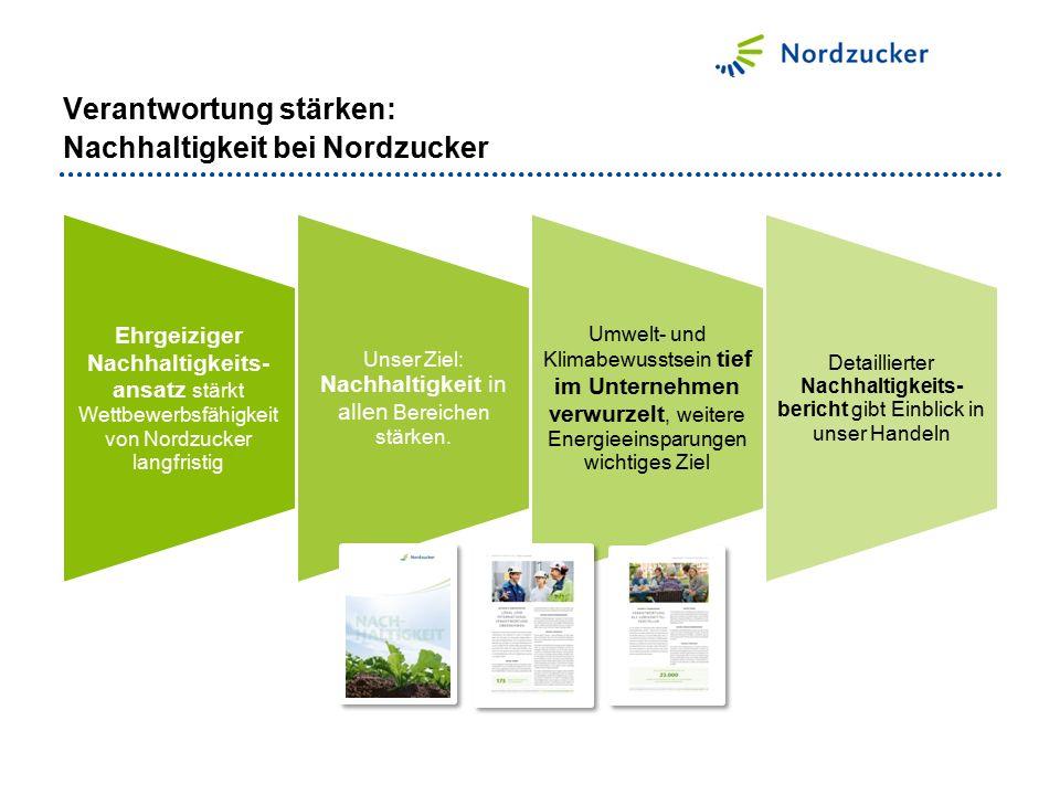 Verantwortung stärken: Nachhaltigkeit bei Nordzucker