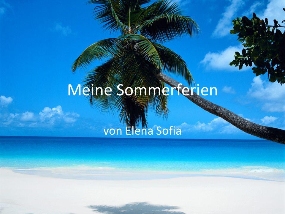 Meine Sommerferien von Elena Sofia