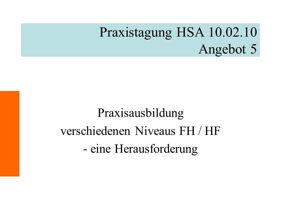 Praxistagung HSA 10.02.10 Angebot 5