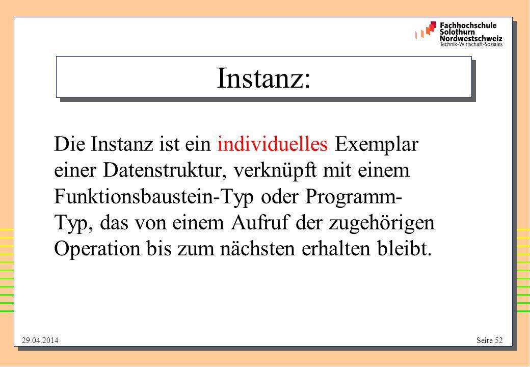Instanz: