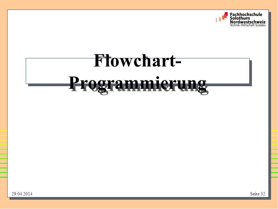 Flowchart-Programmierung