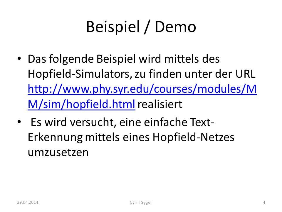 Beispiel / Demo