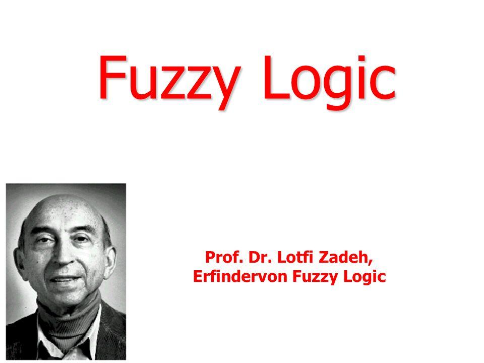 Erfindervon Fuzzy Logic