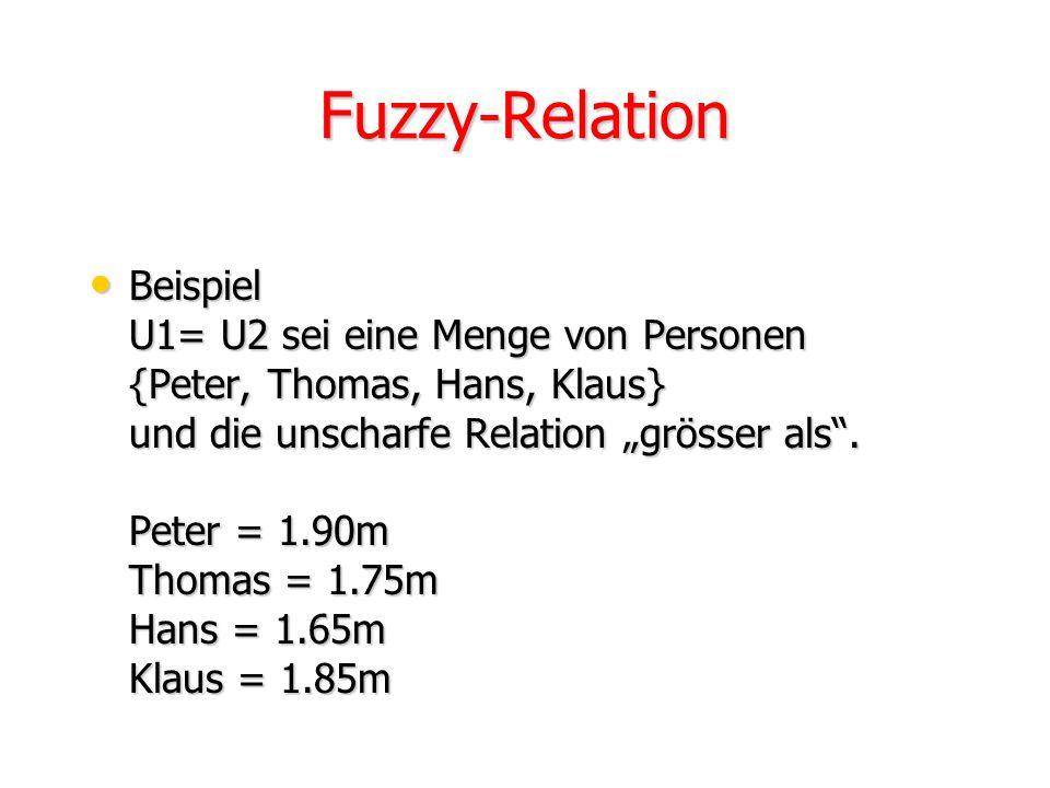 Fuzzy-Relation