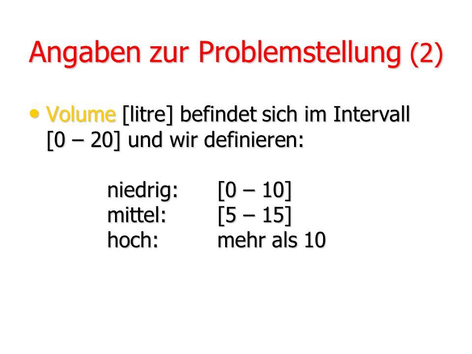 Angaben zur Problemstellung (2)