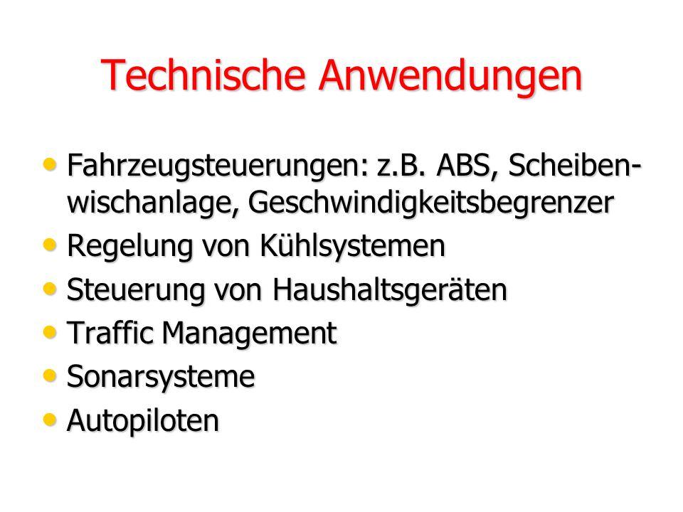 Technische Anwendungen