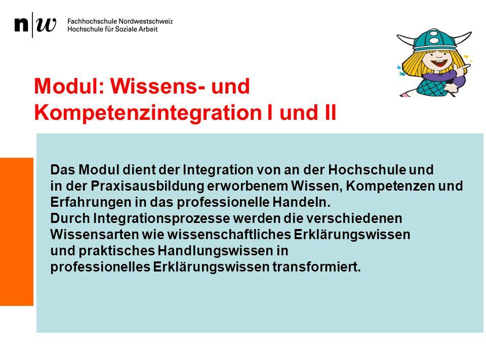 Modul: Wissens- und Kompetenzintegration I und II
