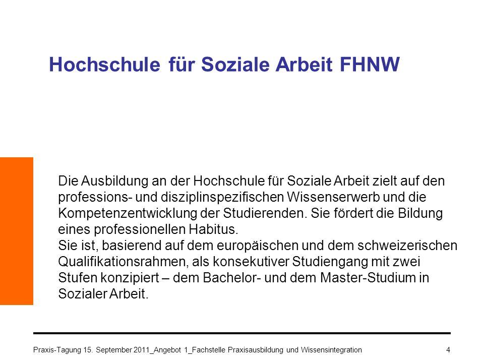 Hochschule für Soziale Arbeit FHNW