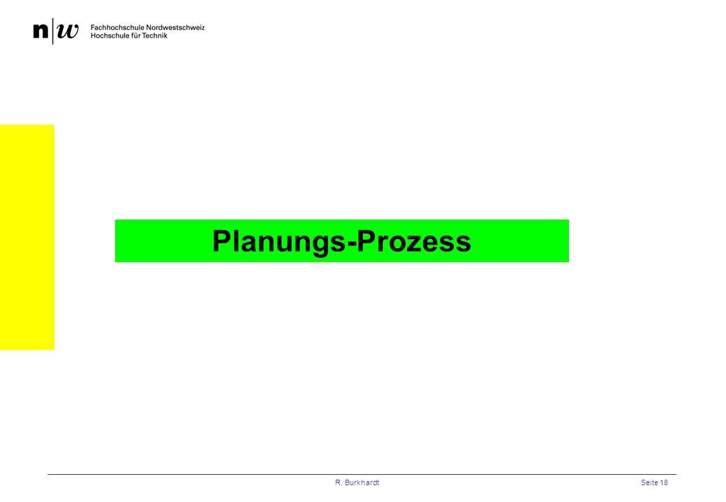 Planungs-Prozess R. Burkhardt