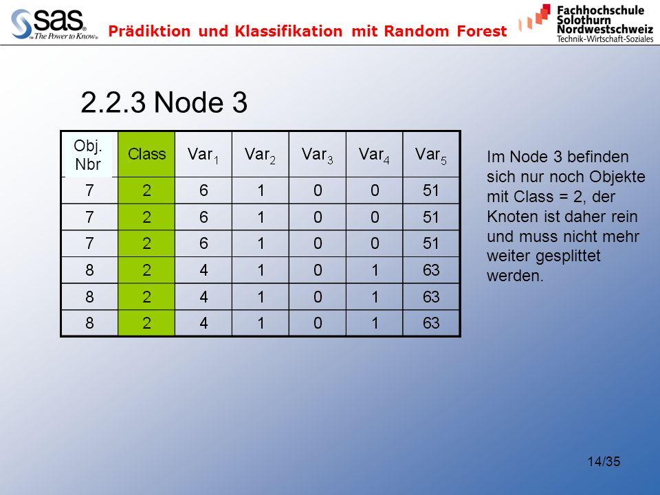 2.2.3 Node 3 Im Node 3 befinden sich nur noch Objekte