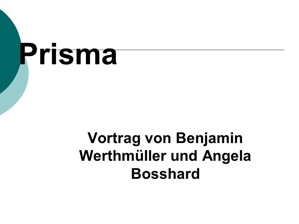 Vortrag von Benjamin Werthmüller und Angela Bosshard
