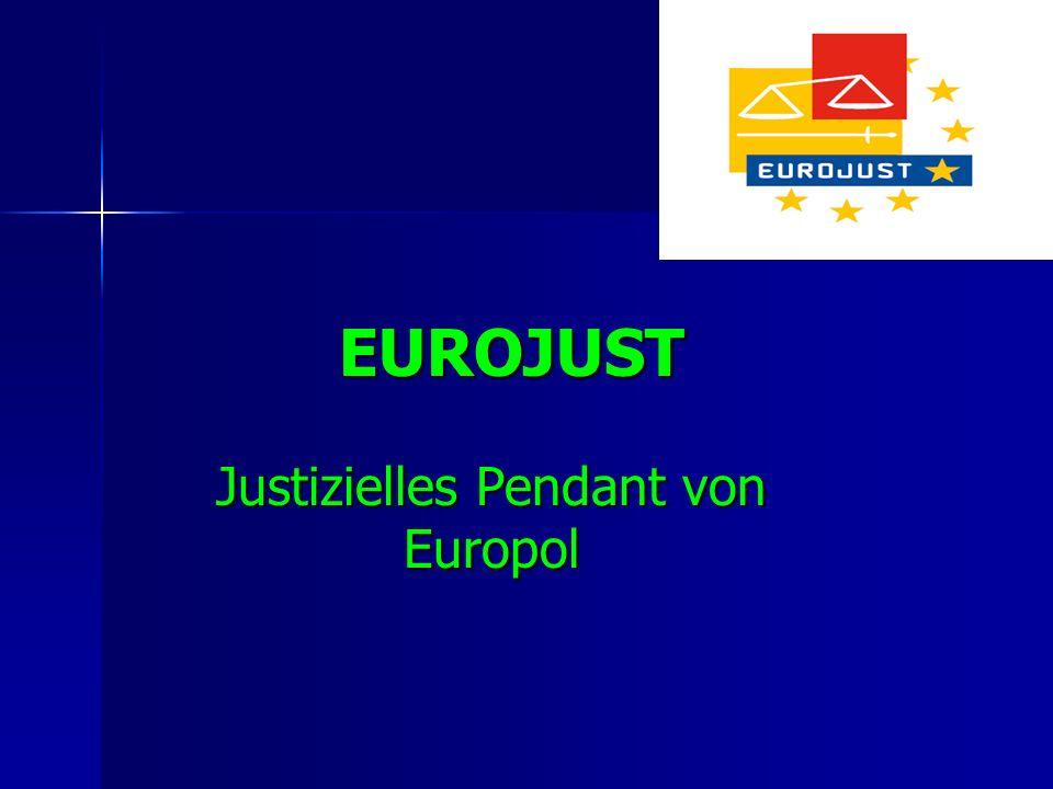 Justizielles Pendant von Europol