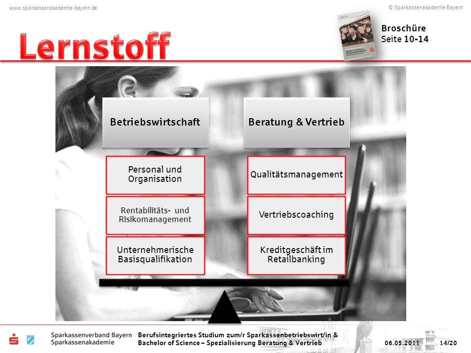 Lernstoff Betriebswirtschaft Beratung & Vertrieb Broschüre Seite 10-14