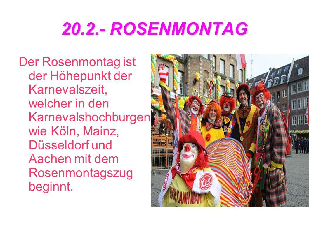 20.2.- ROSENMONTAG