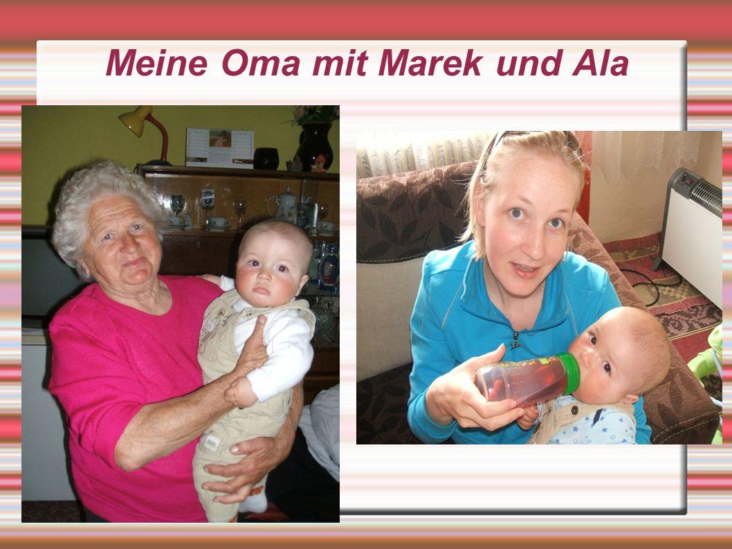 Meine Oma mit Marek und Ala