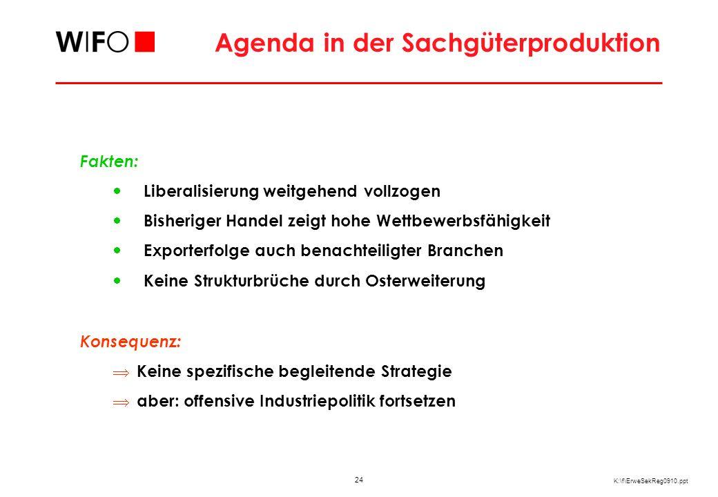 Entwicklung des österreichischen Dienstleistungshandels mit den neuen MS (10)