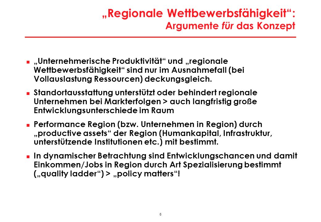 """Die Welt der """"Rankings : Rezente Ergebnisse (Beispiel World Economic Forum)"""