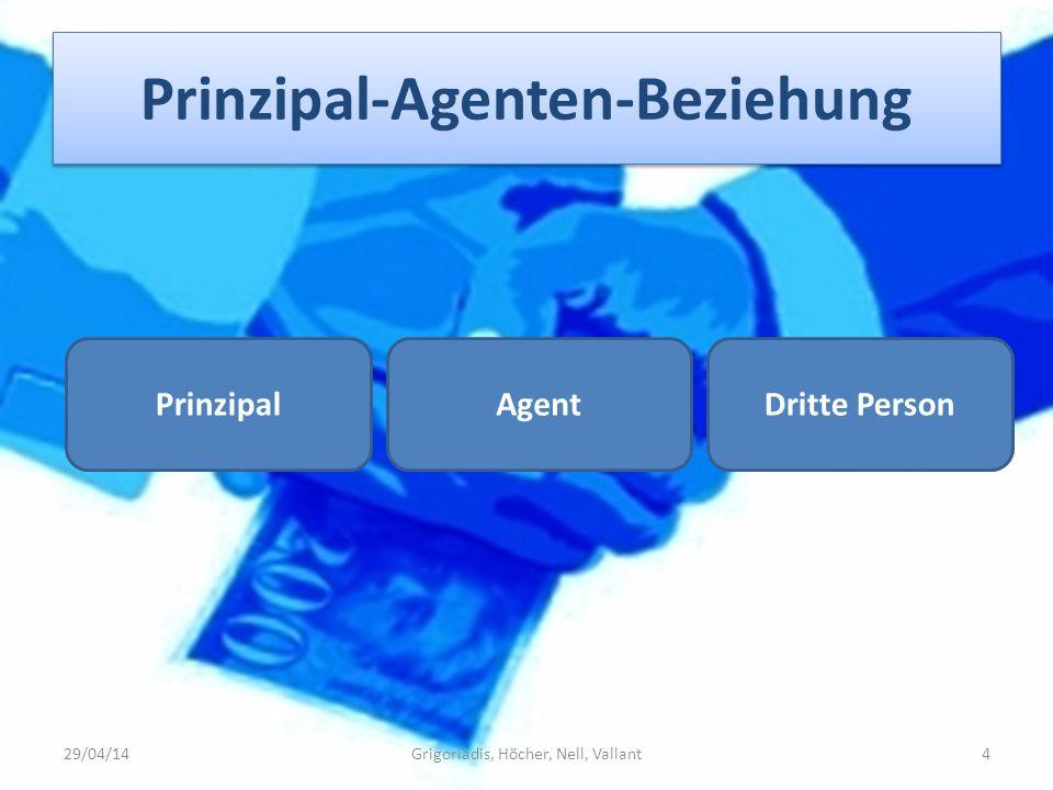 Prinzipal-Agenten-Beziehung