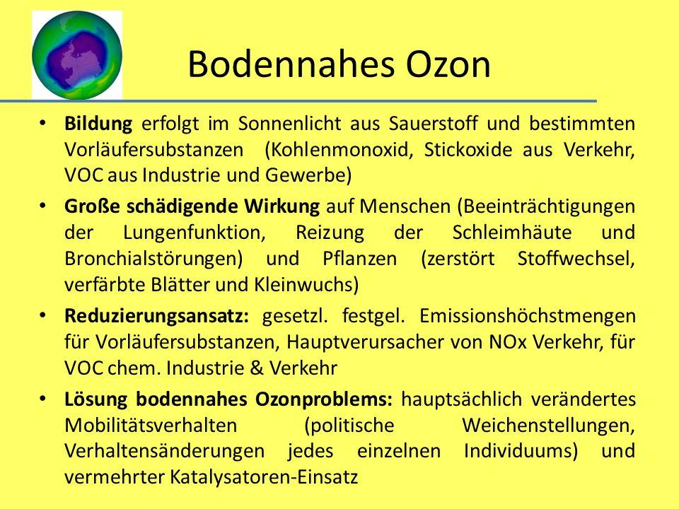 Bodennahes Ozon