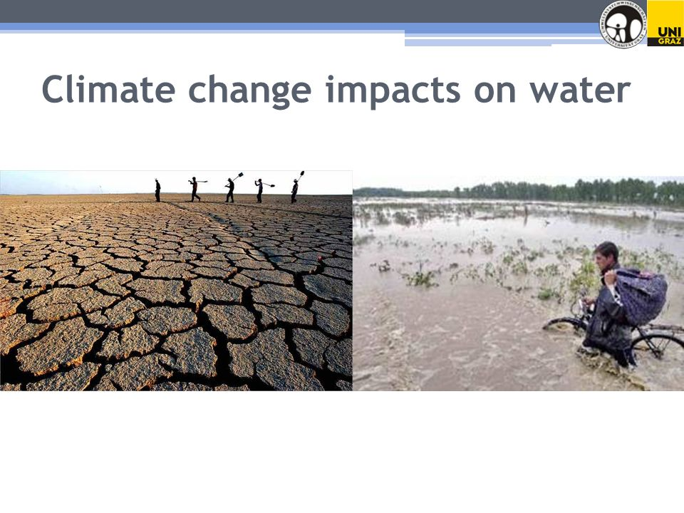 Climate change impacts on water