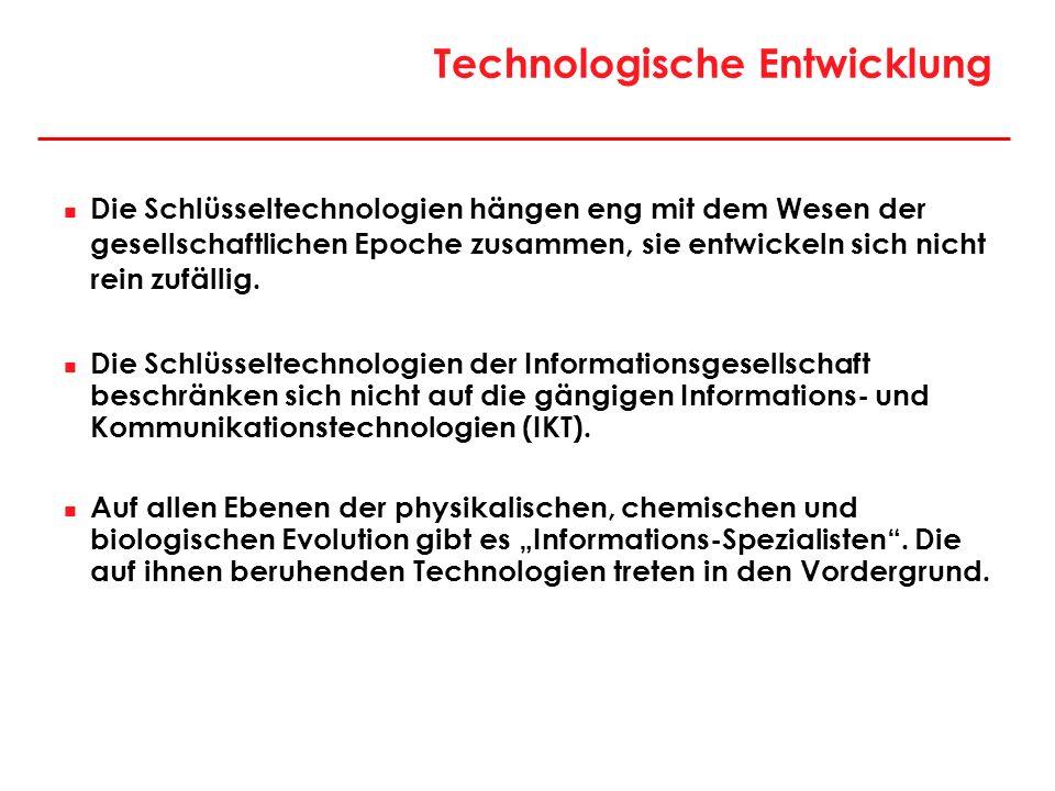 Technologische Entwicklung