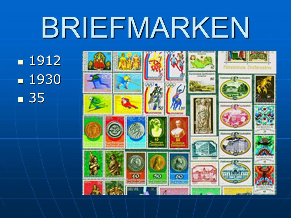 BRIEFMARKEN 1912 1930 35