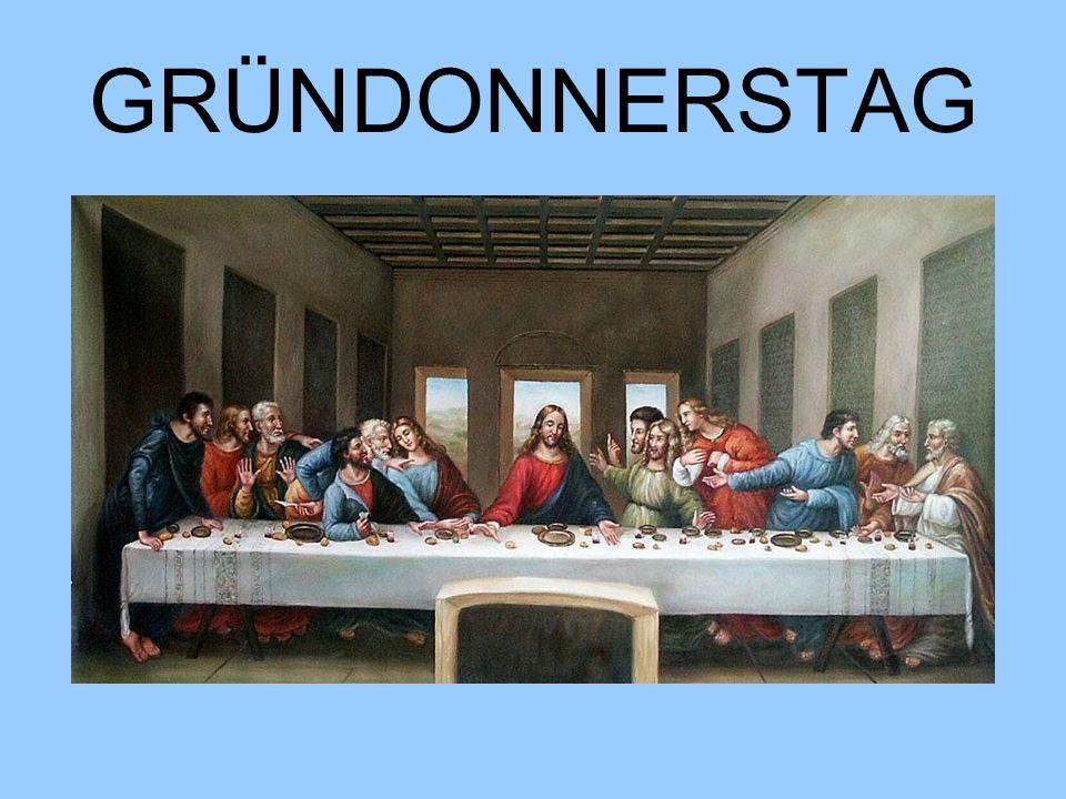 GRÜNDONNERSTAG